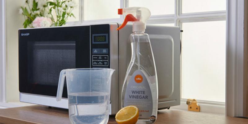 روشهایی برای تمیز کردن مایکروویو (مایکروفر)