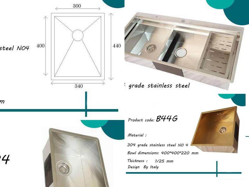 کاتالوگ محصولات بنتو سینک